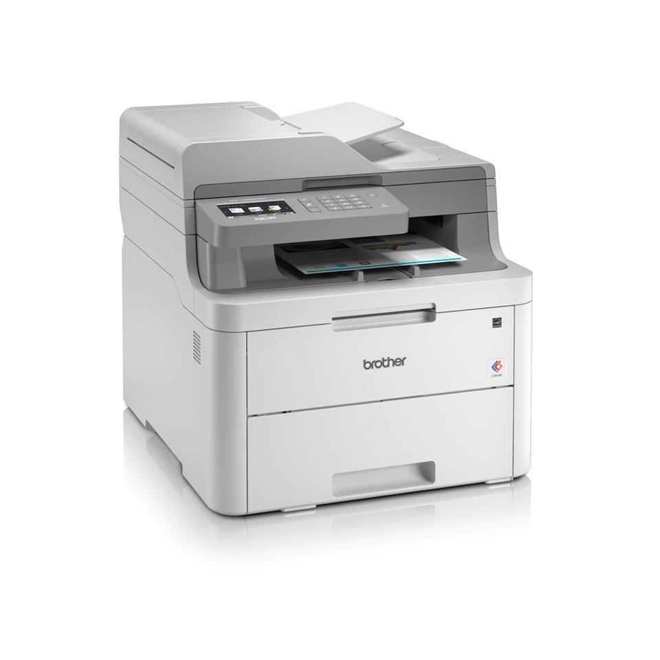 DCP-L3550CDW -  LED-farveprinter alt-i-én  3