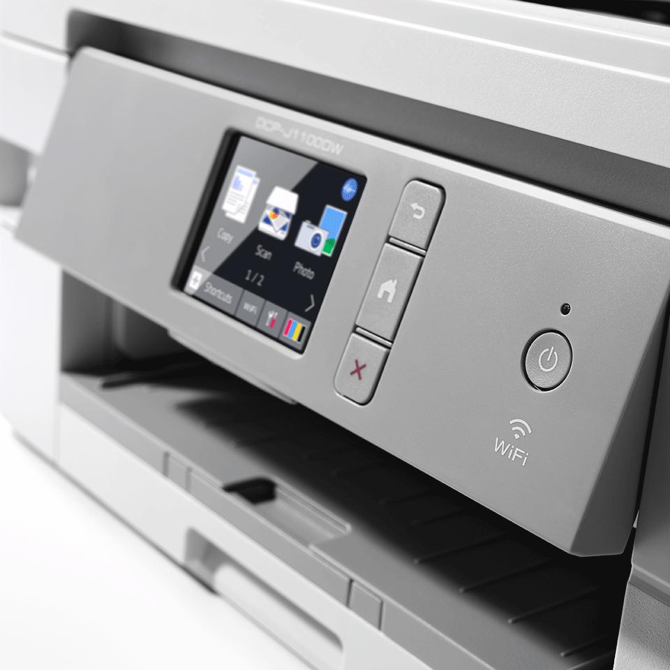 DCP-J1100DW - trådløs alt-i-én-inkjetprinter, All In Box-pakke 5