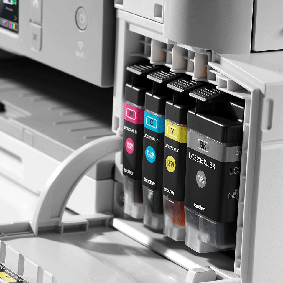 DCP-J1100DW - trådløs alt-i-én-inkjetprinter, All In Box-pakke 6