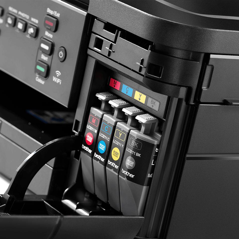 DCP-J572DW er en trådløs alt-i-én inkjetprinter 7