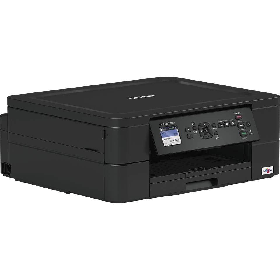 DCP-J572DW er en trådløs alt-i-én inkjetprinter 2