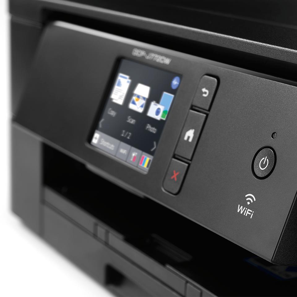 DCP-J772DW - alt-i-én trådløs farve inkjetprinter 4