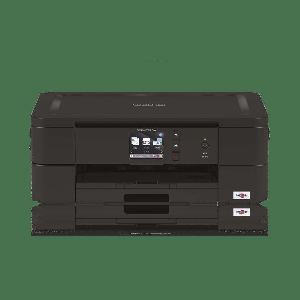 DCP-J772DW - alt-i-én trådløs farve inkjetprinter