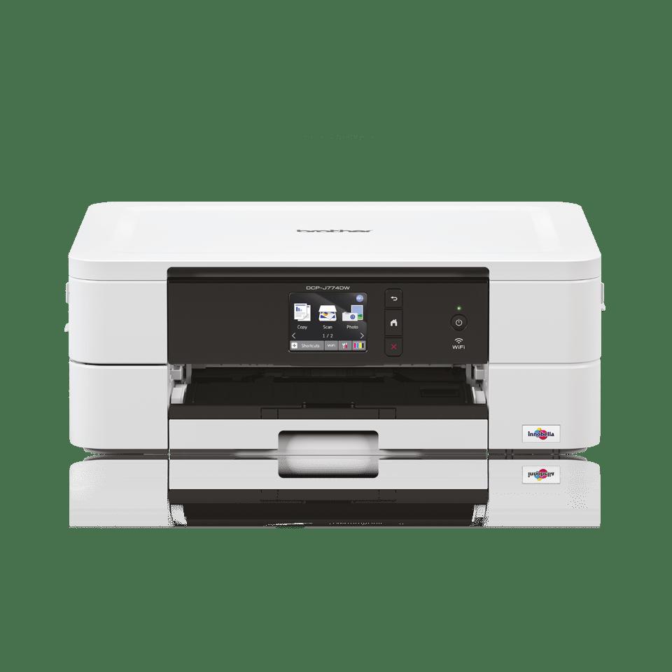 DCP-J774DW - alt-i-én trådløs farve inkjetprinter