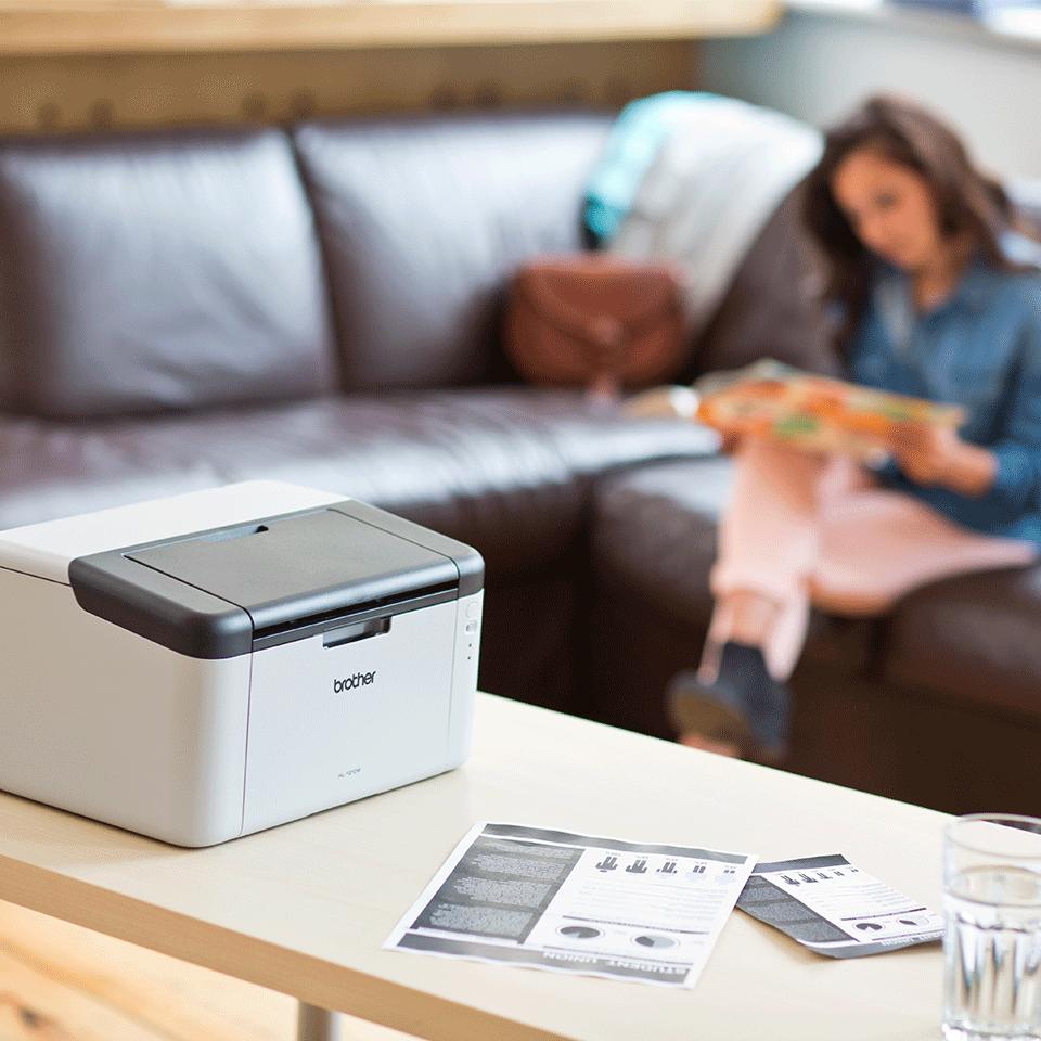Trådløs s/h-laserprinter - HL-1210WVB All in Box 3