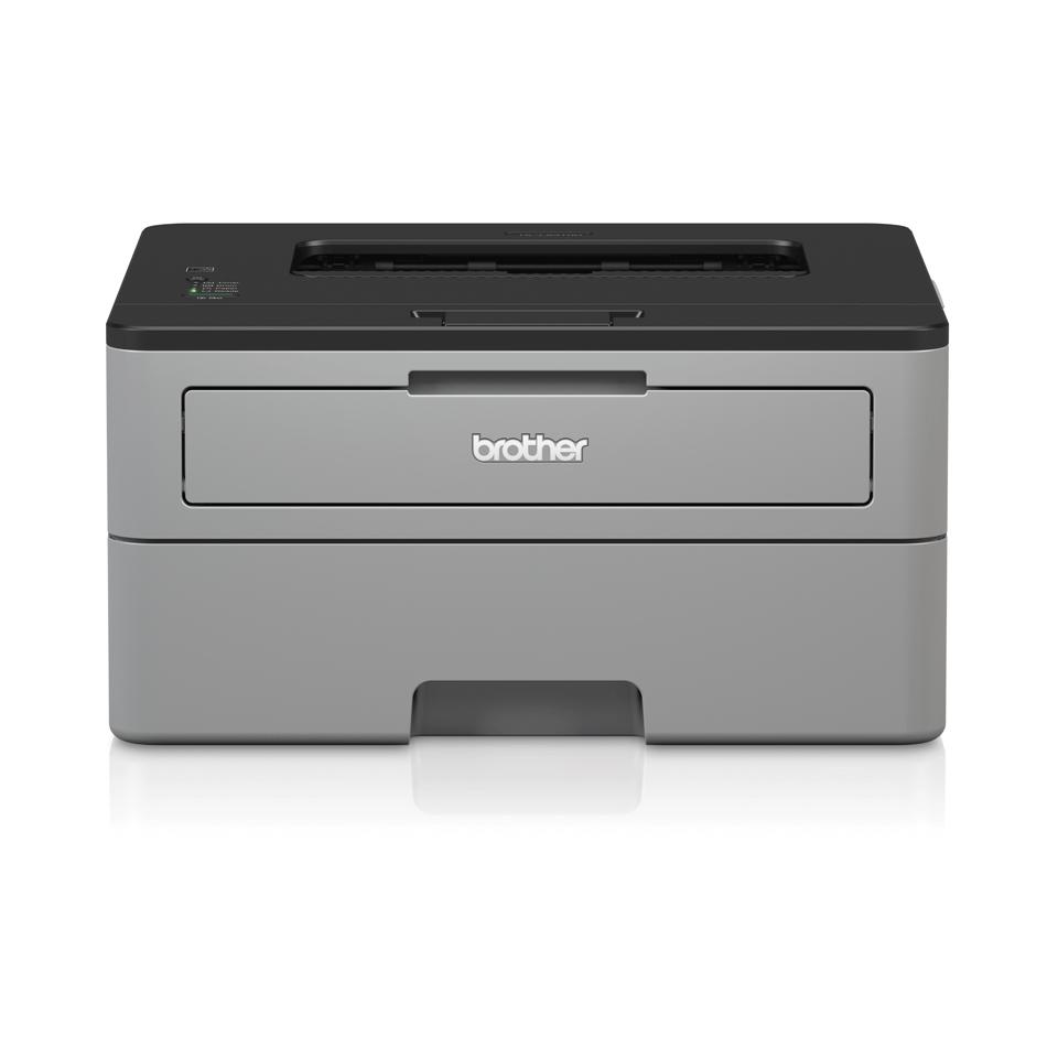 Brother HL-L2310D er en kompakt sort/hvid laserprinter