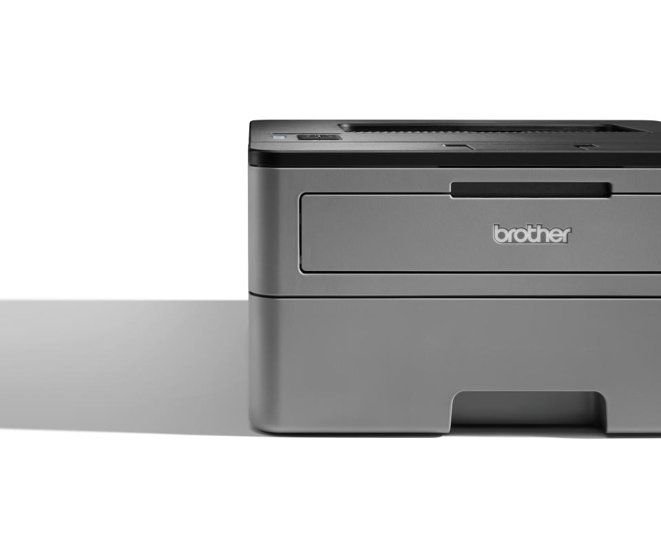 HL-L2350DW er en kompakt, trådløs, s/h-laserprinter 4