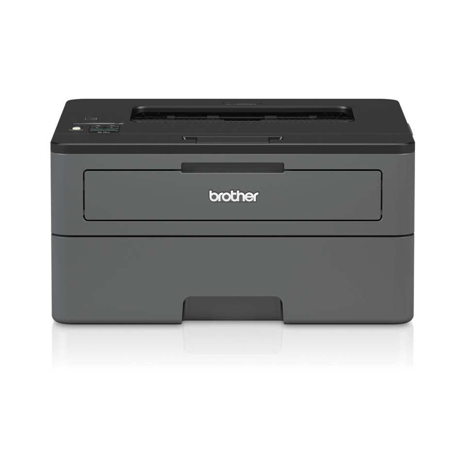 Brother HL-L2370DN er en kompakt sort/hvid laserprinter med kablet netkort