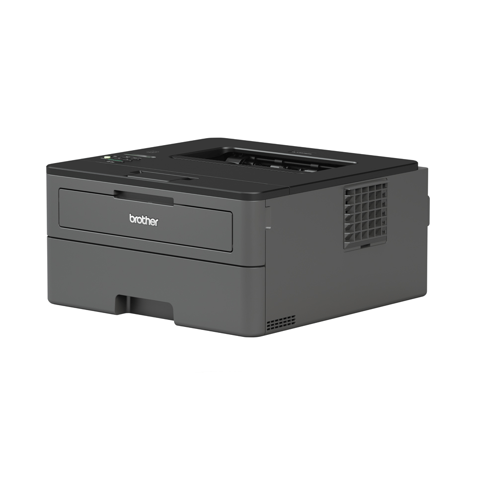Brother HL-L2375DW er en kompakt, trådløs sort/hvid laserprinter