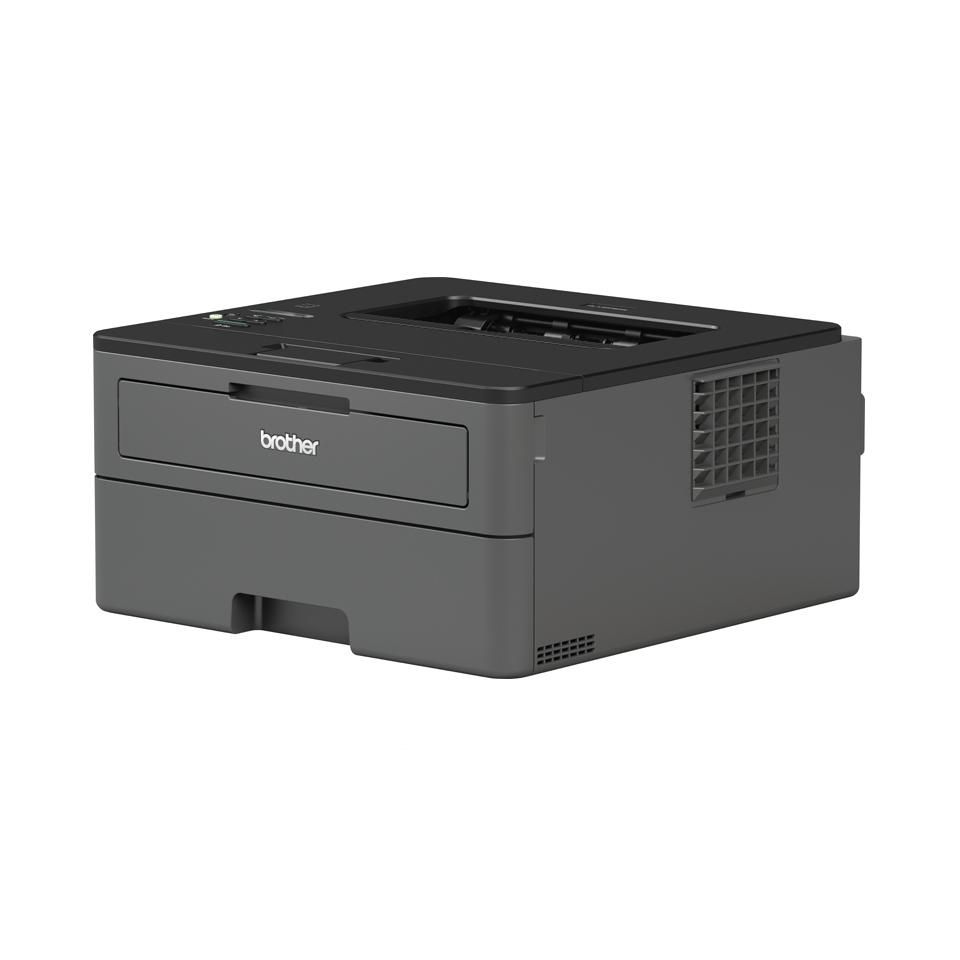 Brother HL-L2375DW er en kompakt, trådløs sort/hvid laserprinter 2
