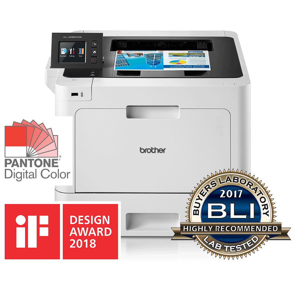 HL-L8360CDW trådløs farvelaserprinter med brugervenlig touchscreen