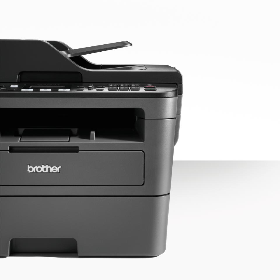 Brother MFC-L2710DW - kompakt trådløs alt-i-én sort/hvid laserprinter 4