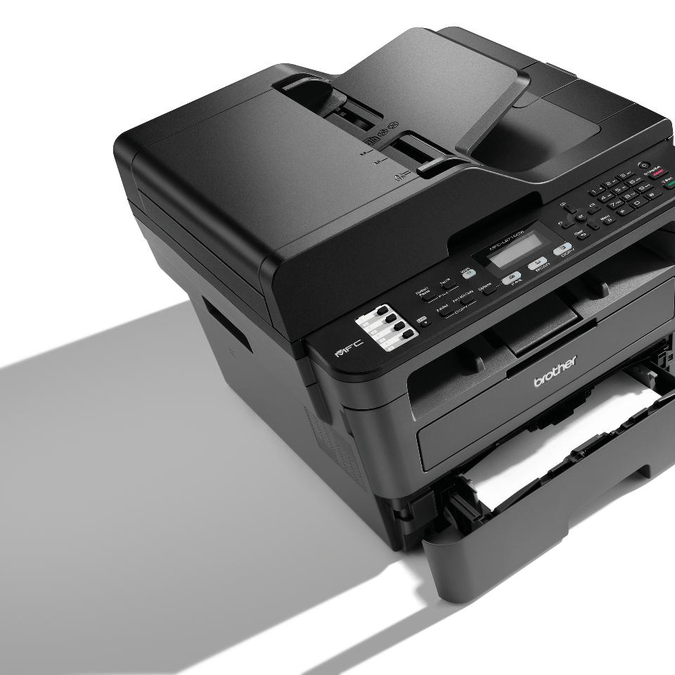 Brother MFC-L2710DW - kompakt trådløs alt-i-én sort/hvid laserprinter 6