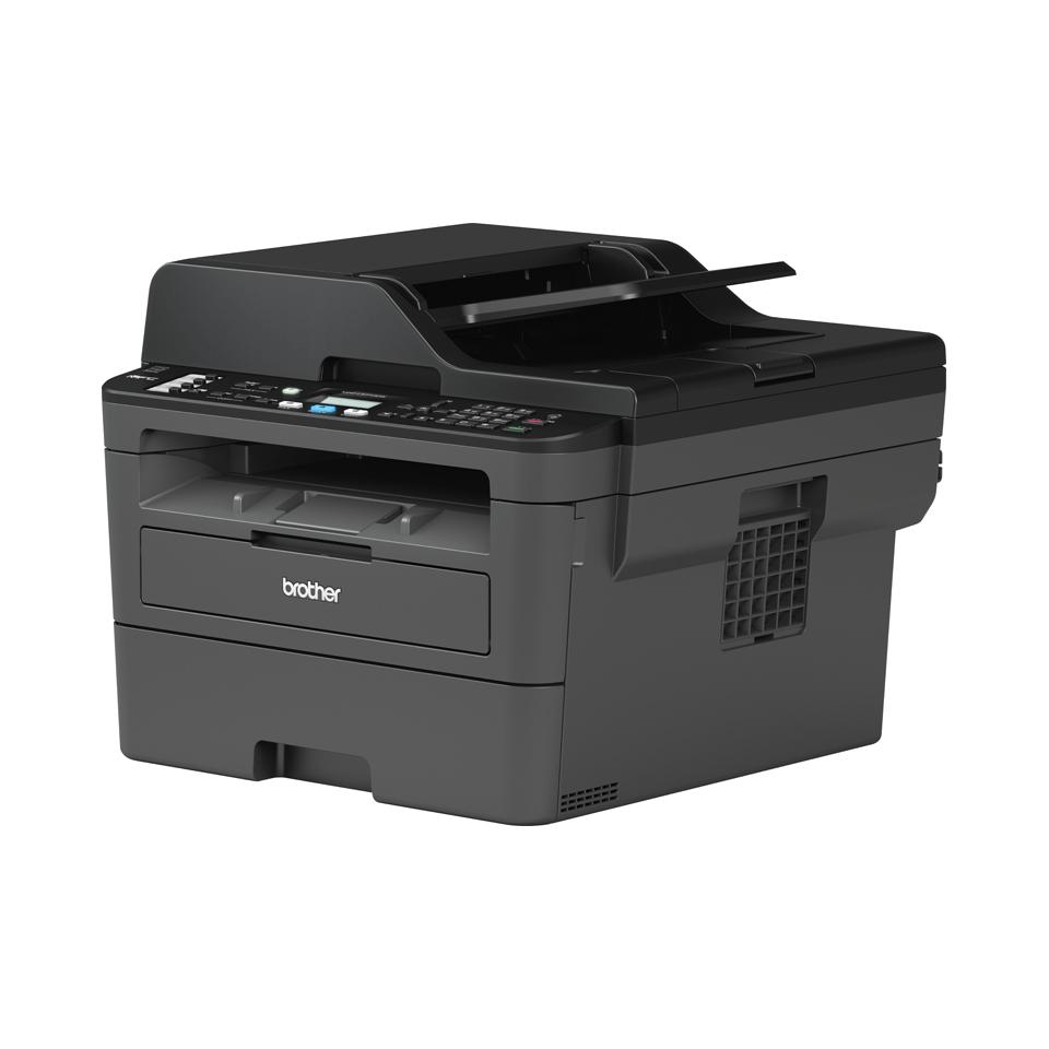 Brother MFC-L2710DW - kompakt trådløs alt-i-én sort/hvid laserprinter 2