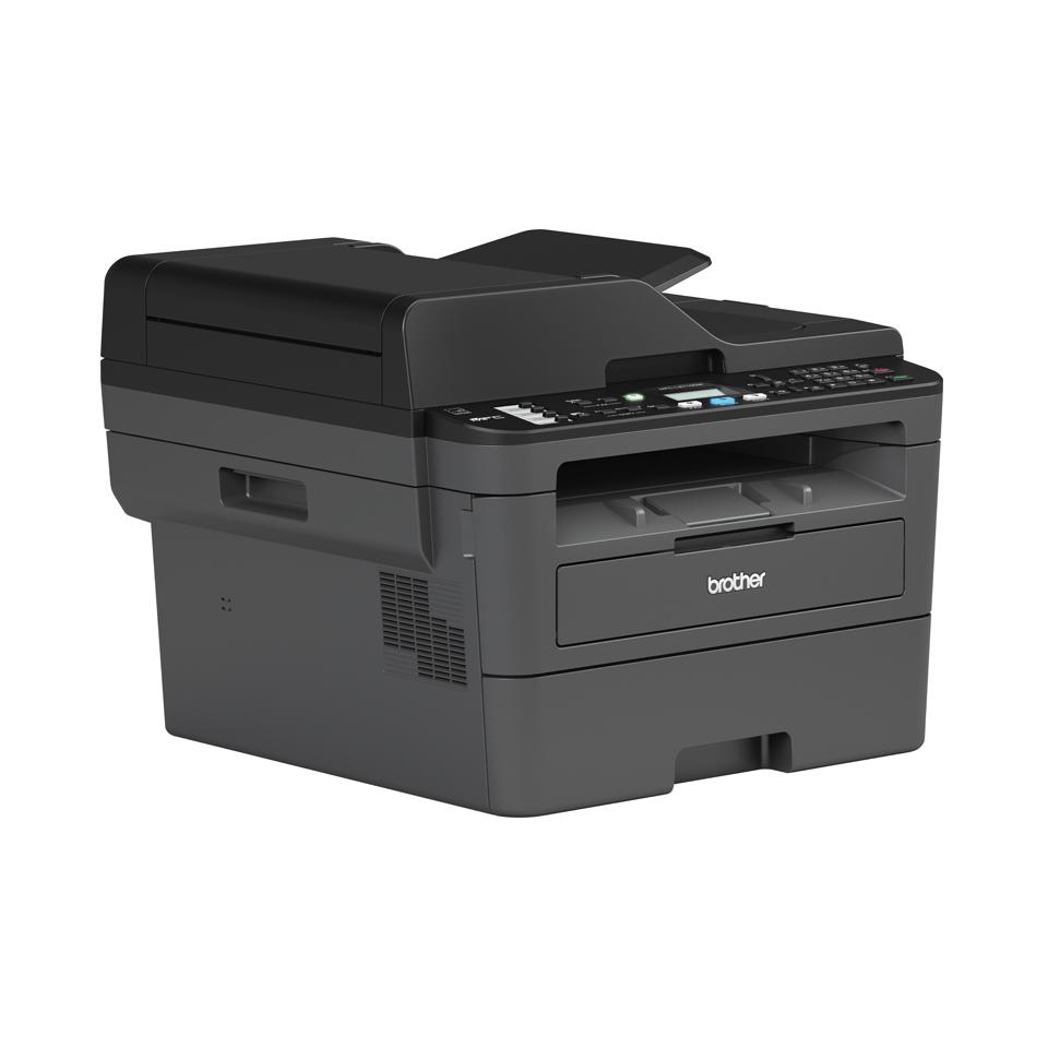 Brother MFC-L2710DW - kompakt trådløs alt-i-én sort/hvid laserprinter 3
