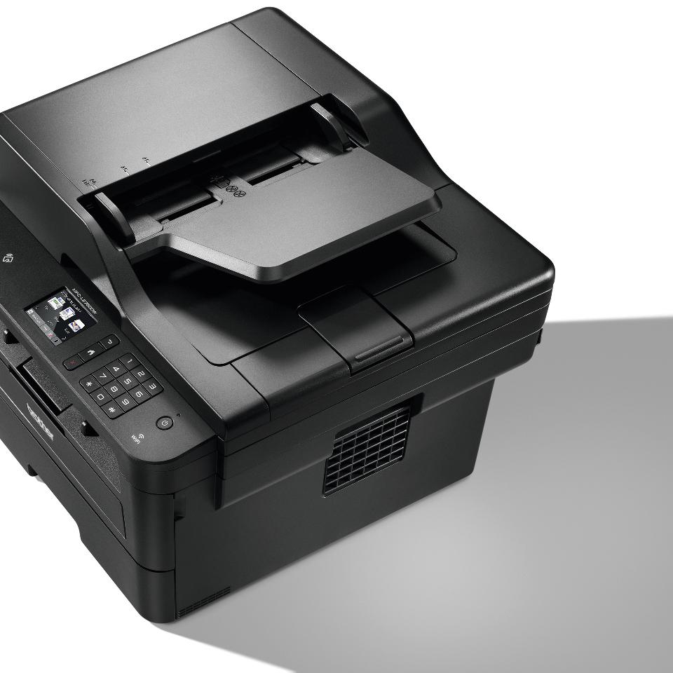 Brother MFC-L2750DW - kompakt alt-i-én-laserprinter med trådløst og kablet netkort 5