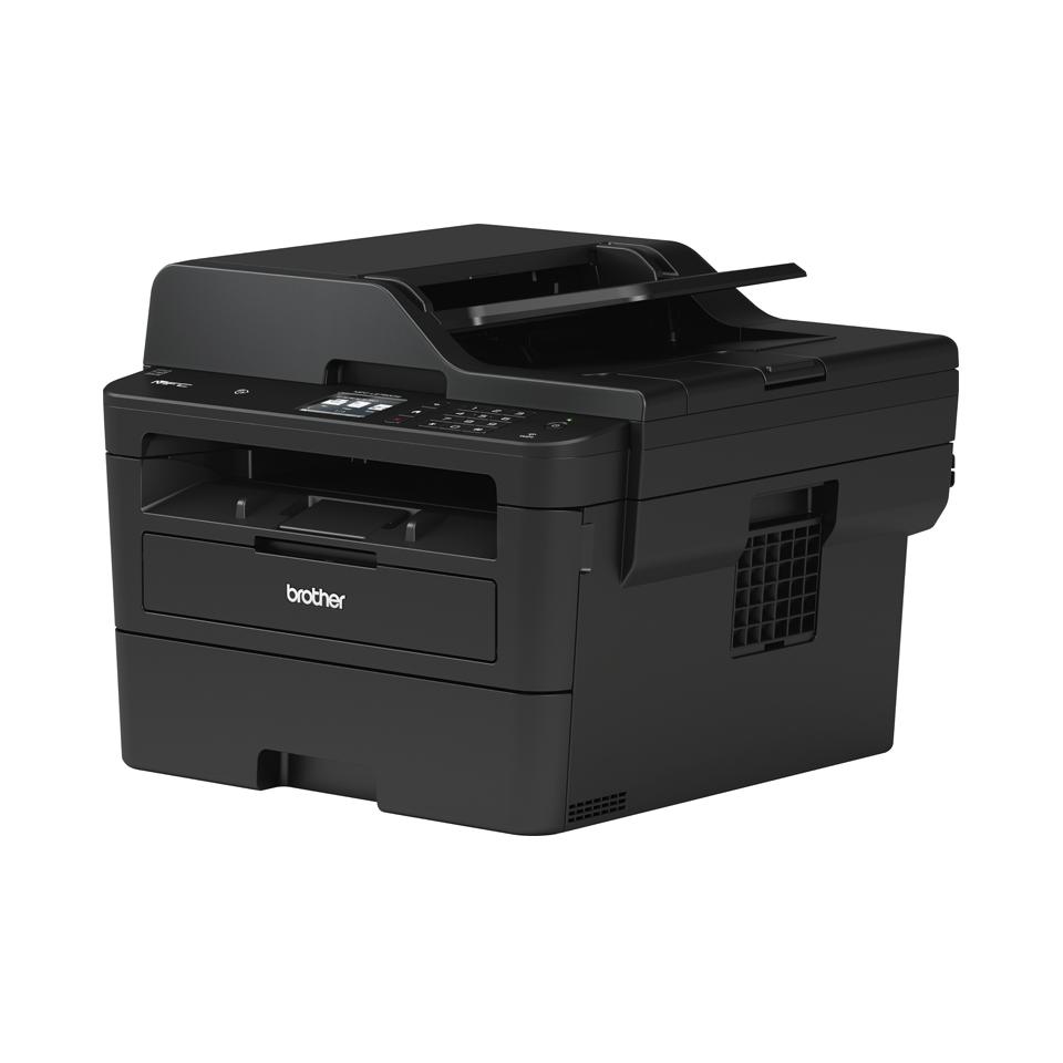 Brother MFC-L2750DW - kompakt alt-i-én-laserprinter med trådløst og kablet netkort 2