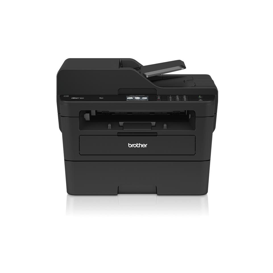 Brother MFC-L2750DW - kompakt alt-i-én-laserprinter med trådløst og kablet netkort