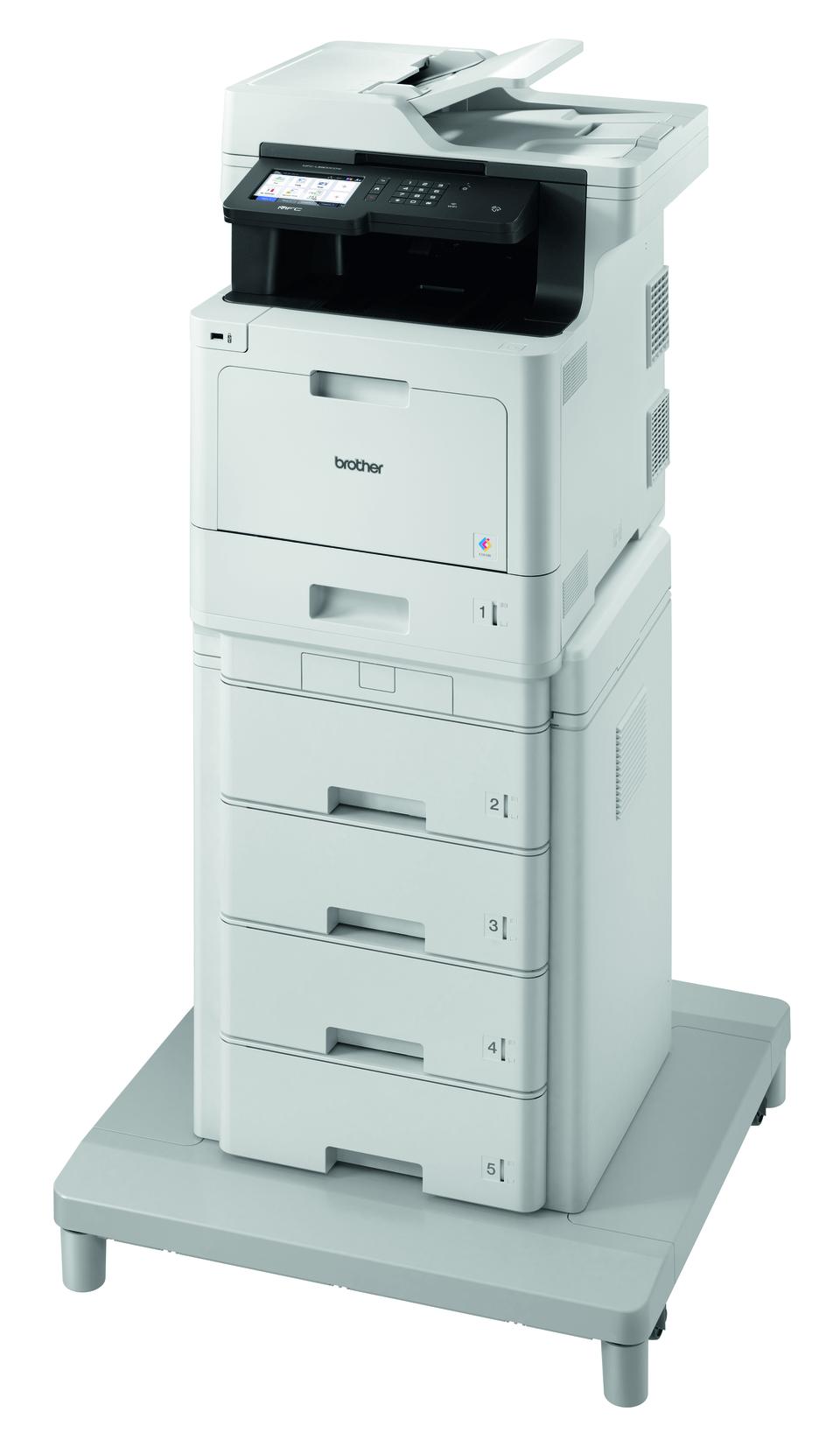 Brother MFC-L8900CDWMT er en professionel alt-i-én laserprinter med dobbeltsidet print og trådløst netkort. 2