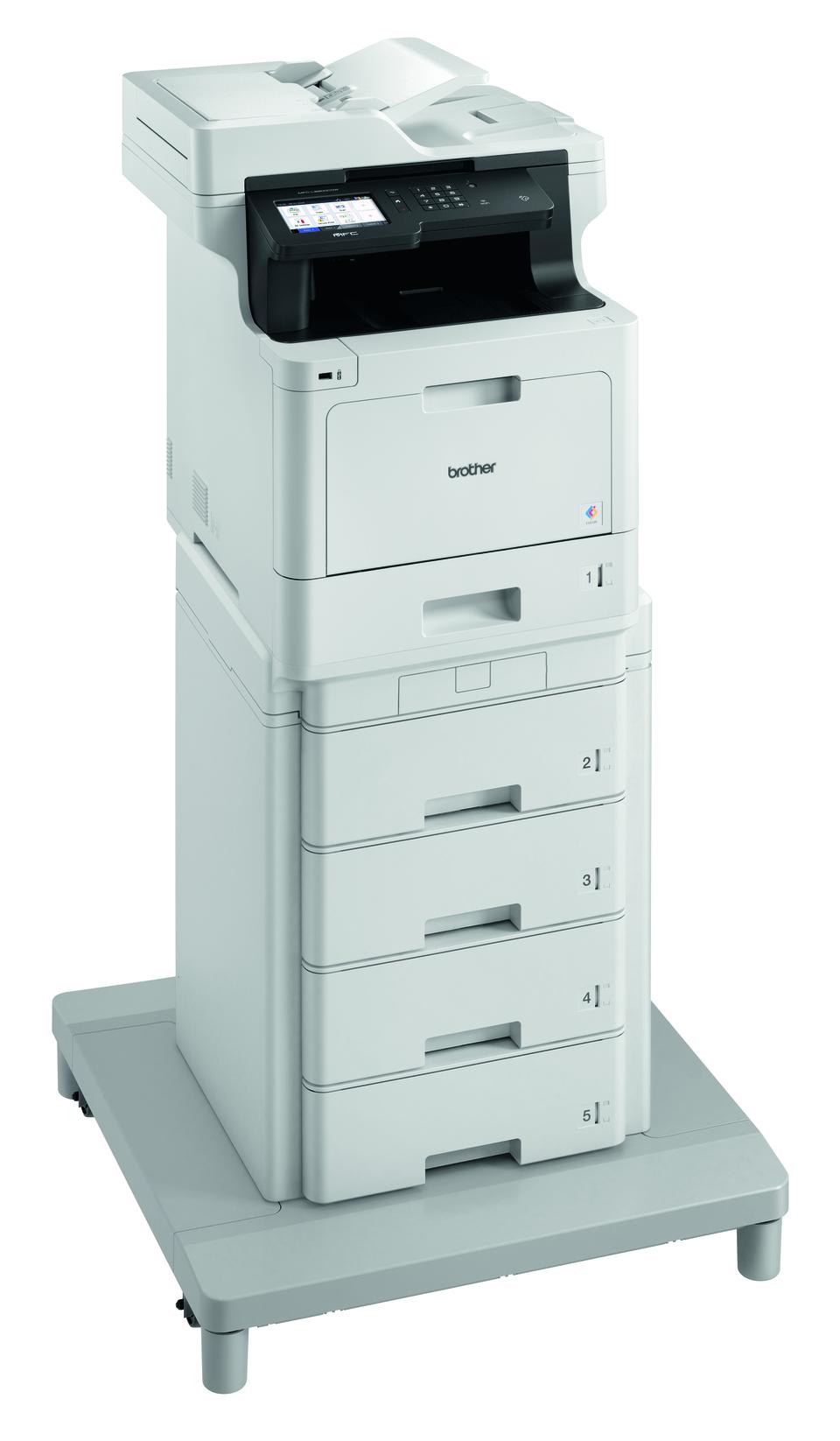 Brother MFC-L8900CDWMT er en professionel alt-i-én laserprinter med dobbeltsidet print og trådløst netkort. 3