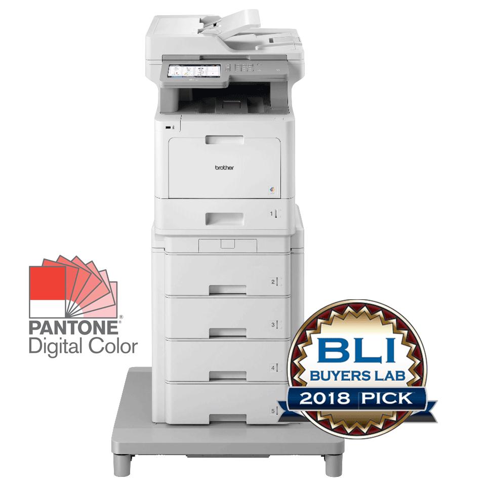 MFC-L9570CDWMT er en professionel alt-i-én farvelaserprinter med dobbeltsidet print og trådløst netkort.