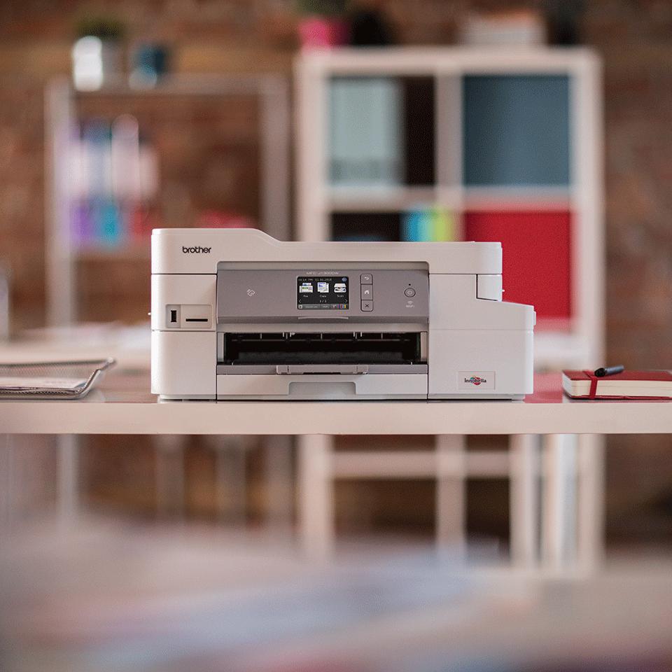 Trådløs alt-i-én inkjetprinter med fax MFC-J1300DW - All In Box pakke 5