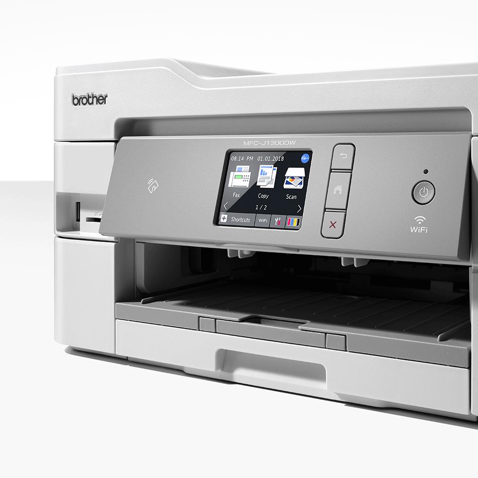 Trådløs alt-i-én inkjetprinter med fax MFC-J1300DW - All In Box pakke 8