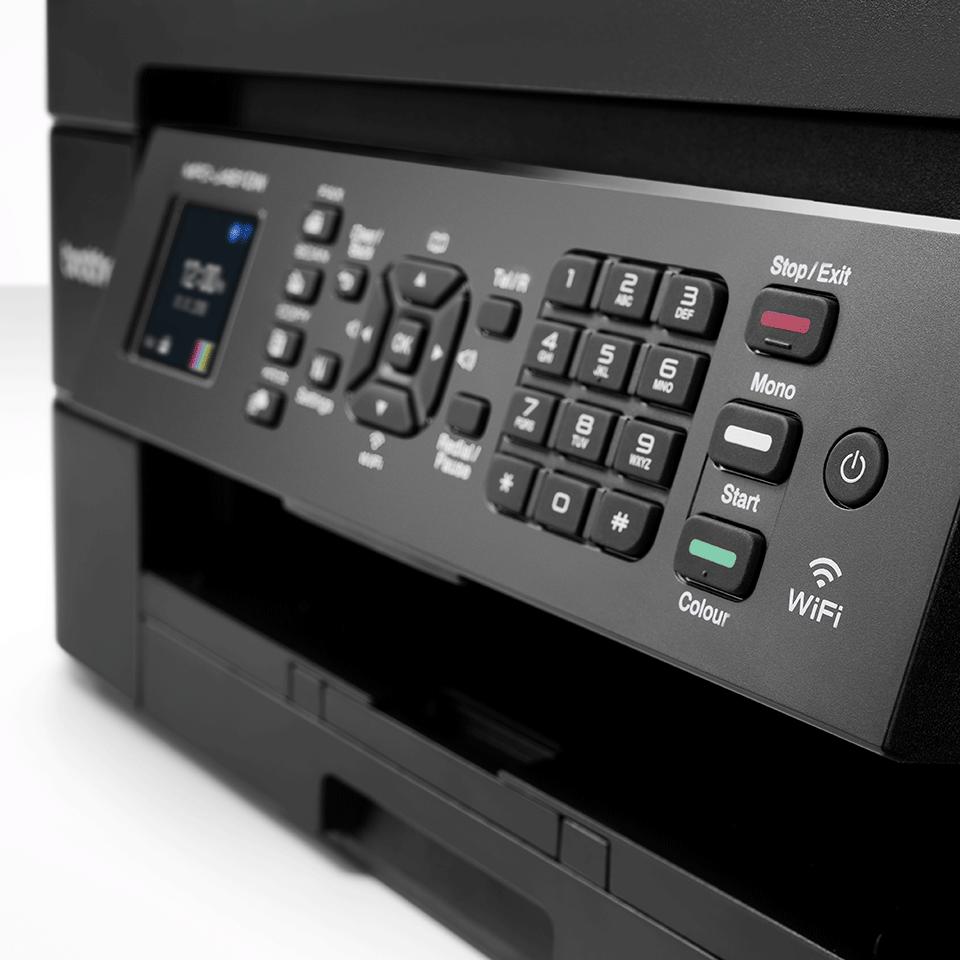 MFC-J491DW er en alt-i-én inkjetprinter med trådløst netkort 5