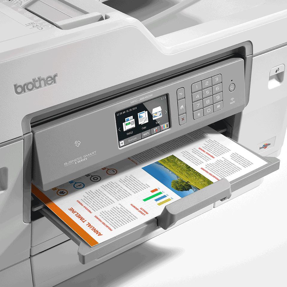 MFC-J6945DW trådløs A3 alt-i-én inkjetprinter med fax 6