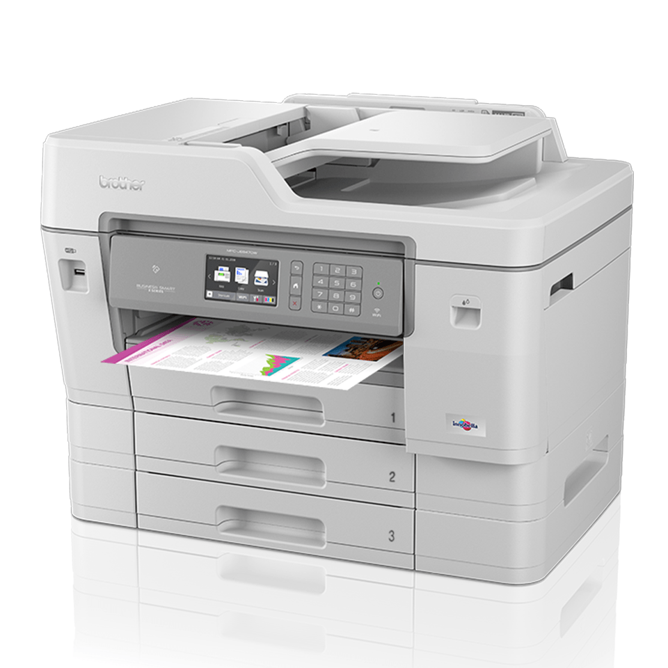 MFC-J6947DW trådløs A3 inkjetprinter med fax 2