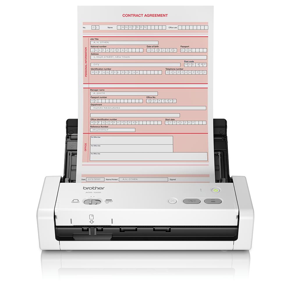 ADS-1200 - mobil og kompakt dokumentscanner
