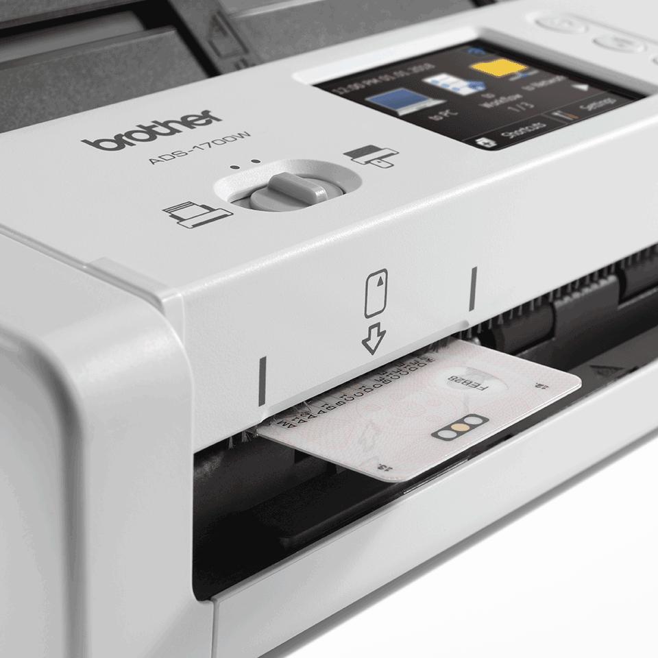 ADS-1700W smart og kompakt dokumentscanner 7