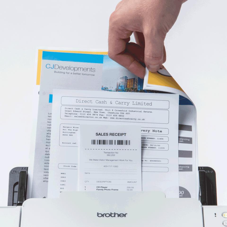 Brother ADS-2700W skrivebordsscanner med trådløst netværk 5