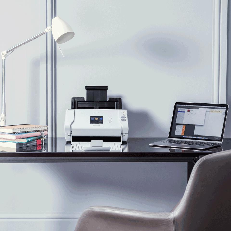 Brother ADS-2700W skrivebordsscanner med trådløst netværk 11