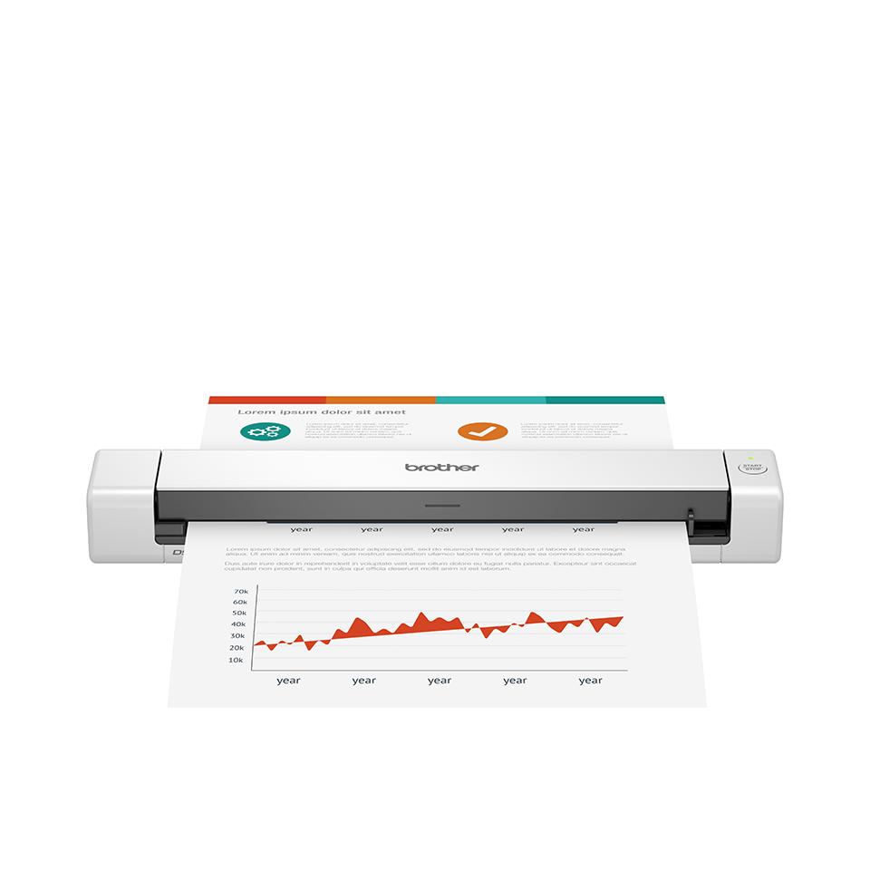 Brother DSmobile DS-640 - mobil scanner