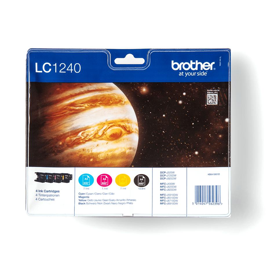Original Brother LC1240VALBPDR blækpatron – sampak