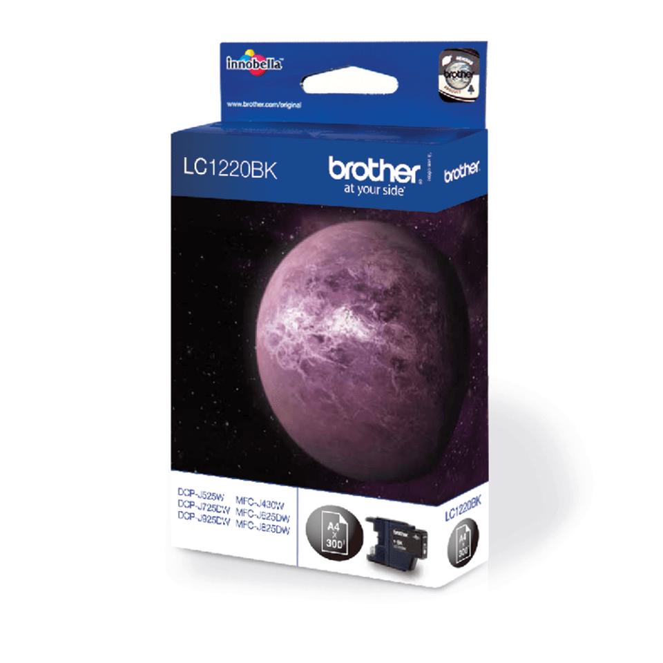 Original Brother LC1220BK blækpatron – sort 2