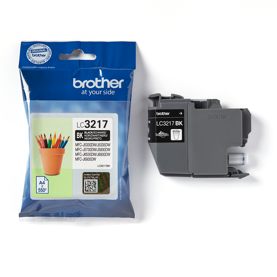 Original Brother LC3217BK blækpatron – sort 3