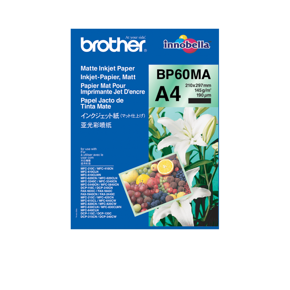 Original Brother BP60MA mat A4 inkjetpapir