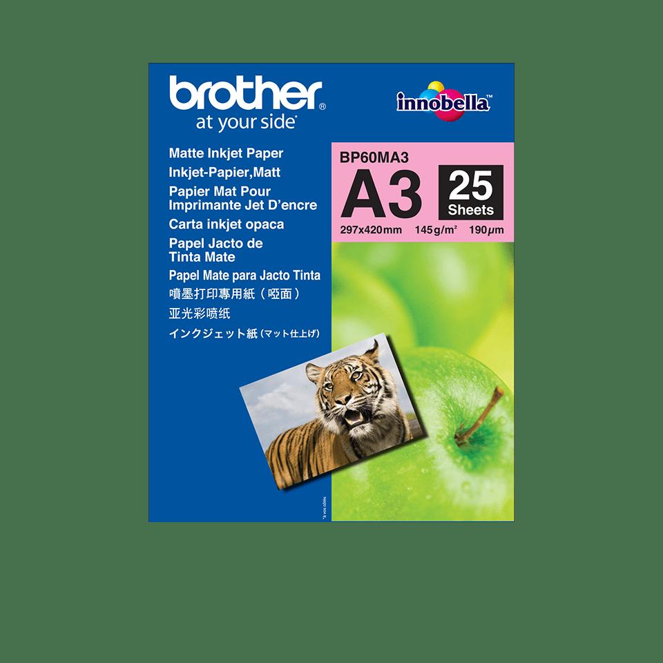 Original Brother BP60MA3 mat A3 inkjetpapir
