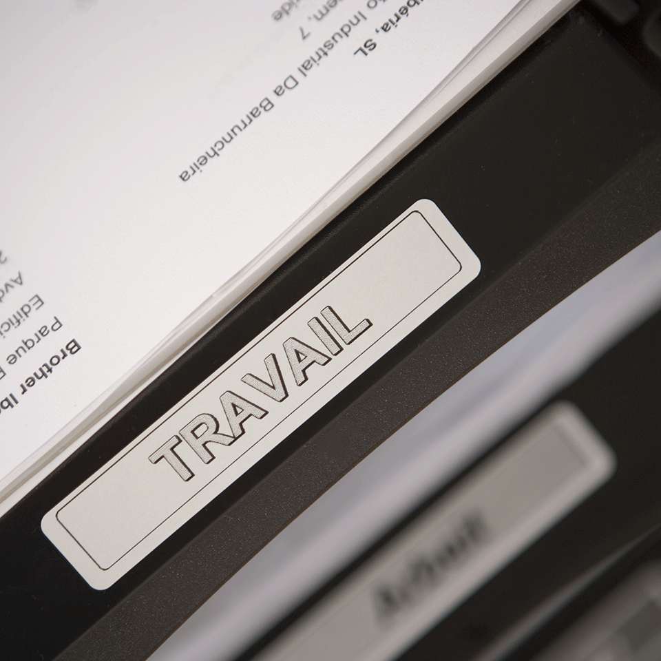 Original Brother DK11204 multi label – sort på hvid, 17 mm x 54 mm 2