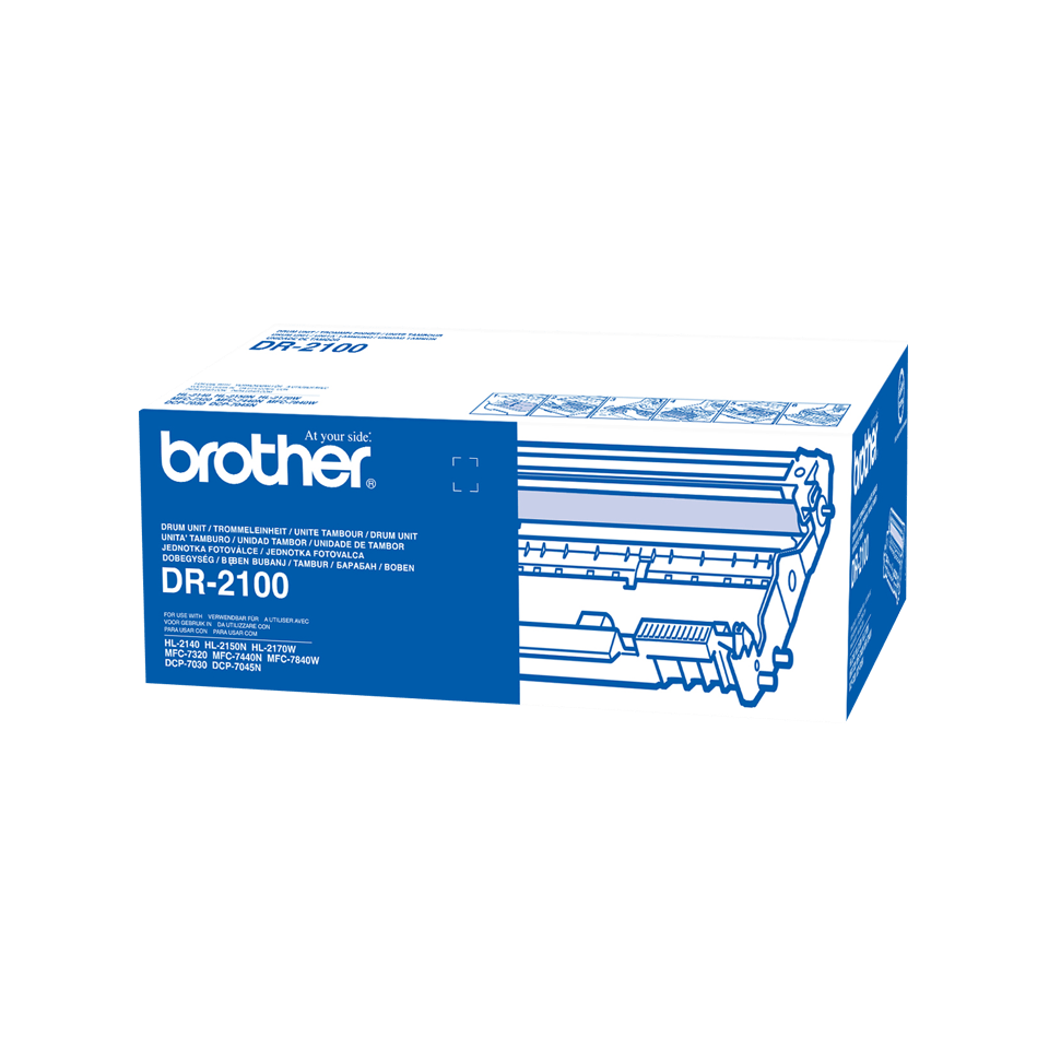 Original Brother-tromle - DR2100