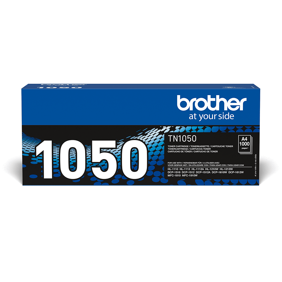 Original Brother TN1050 sort toner