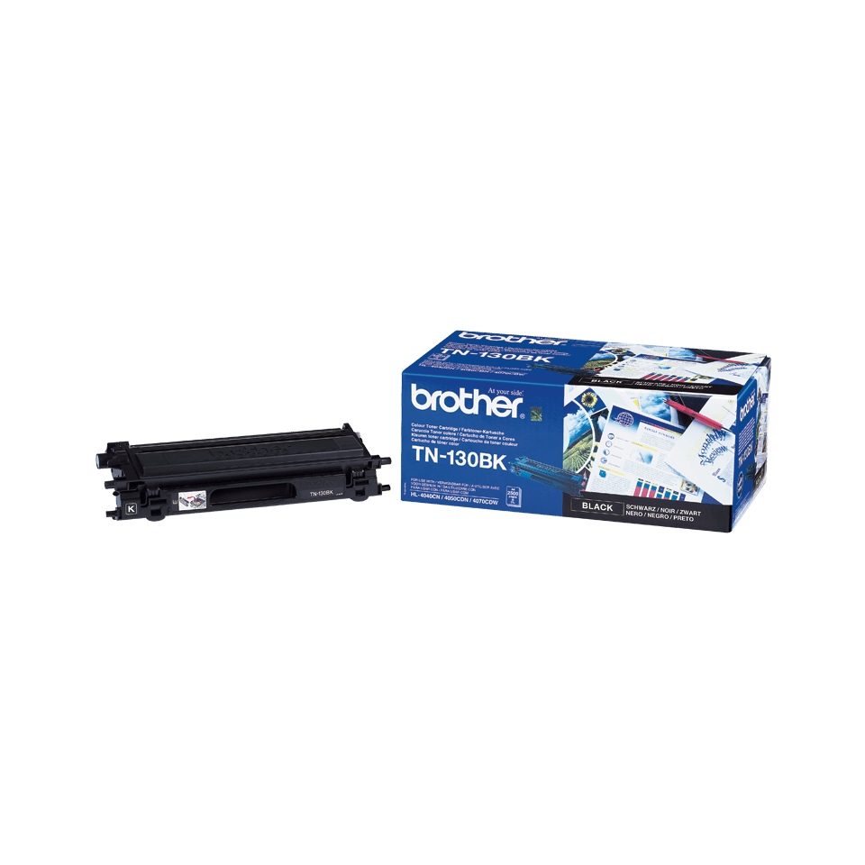 Original Brother TN130BK toner – sort