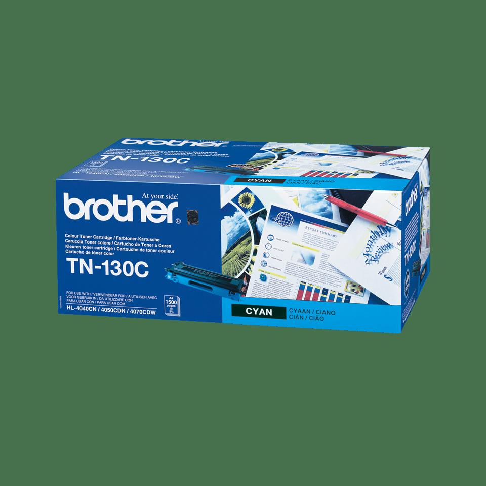 Original Brother TN130C toner – cyan