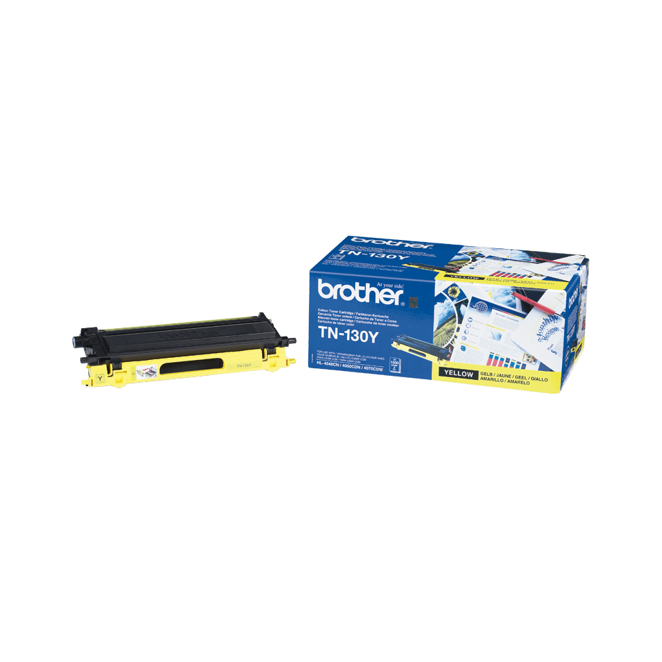 Original Brother TN130Y toner – gul 2