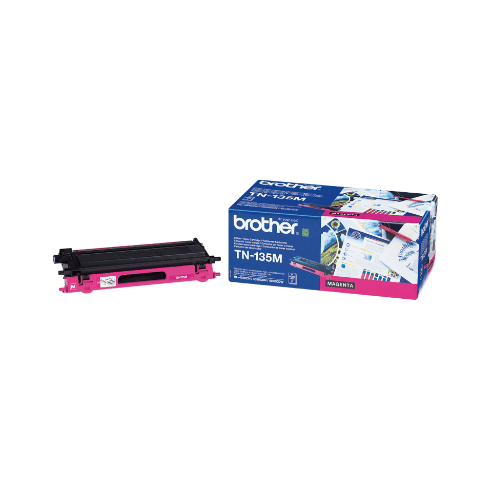 Original Brother TN135M stor toner – magenta