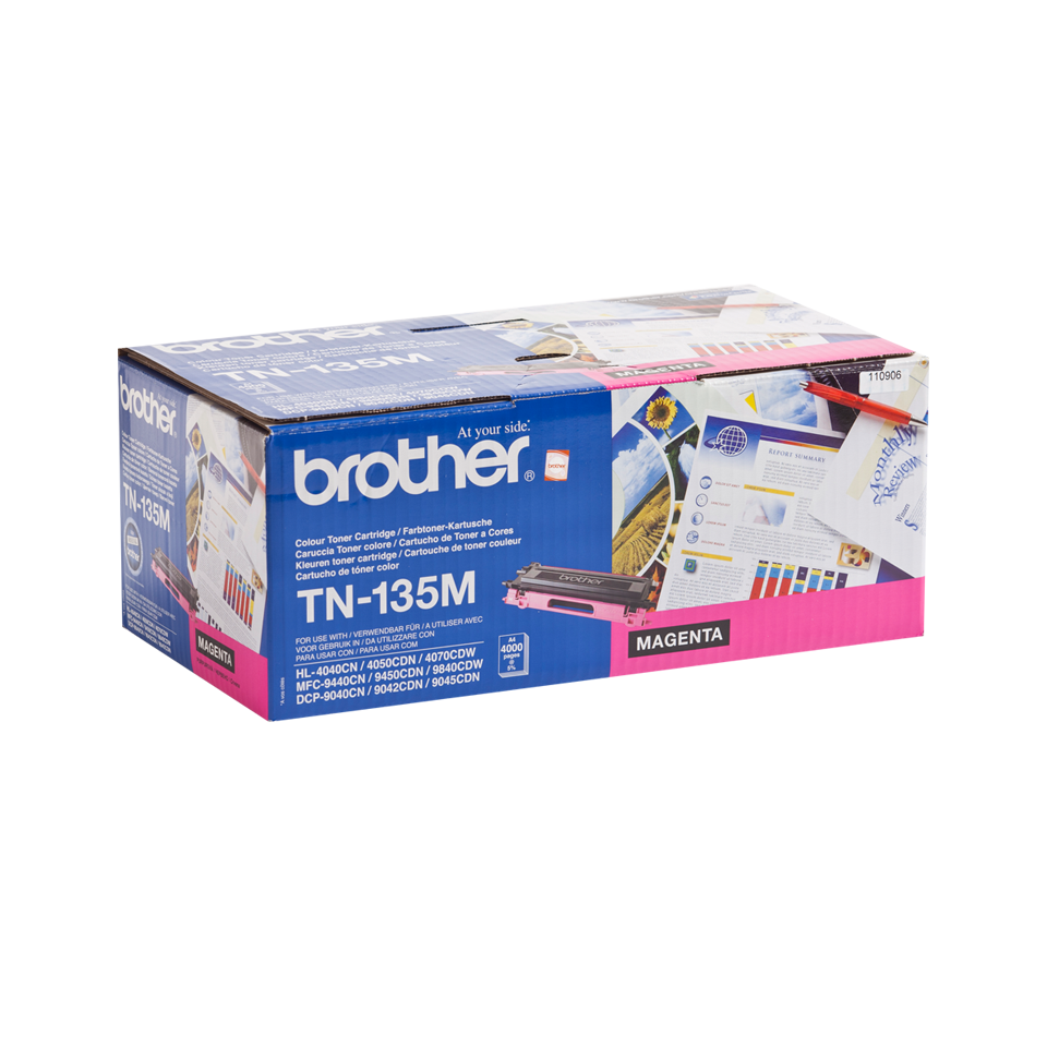 Original Brother TN135M stor toner – magenta 2