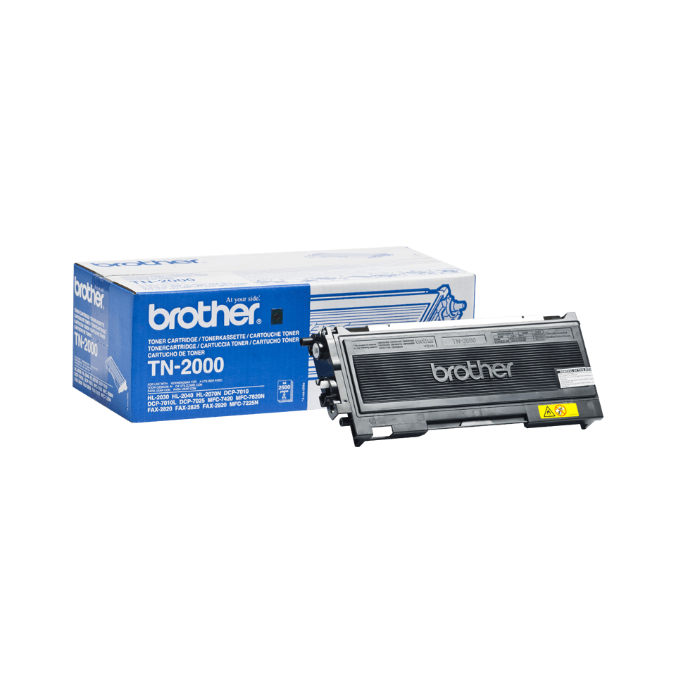 Original Brother TN2000 toner – sort