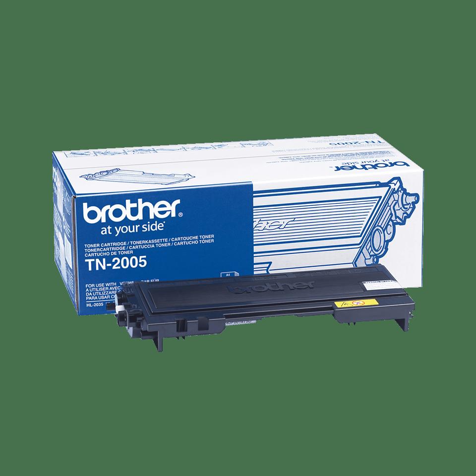 Original Brother TN2005 toner – sort